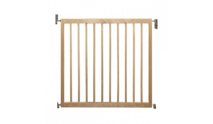 Барьеры и ворота Munchkin Барьеры-ворота Extending Wooden Wall Fix Gate 63,5-106 см цена 2017