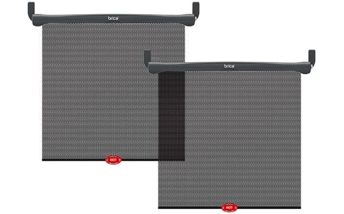 Аксессуары для автомобиля Munchkin Brica Шторки солнцезащитные White Hot Sun Safety Shades 2 шт.