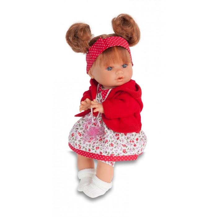 Munecas Antonio Juan  Кукла Кристи плачущая 30 смКукла Кристи плачущая 30 смКукла-младенец Кристи выглядит совсем как ребенок. Куклы одеты в чудесные наряды, созданные испанским дизайнером.  Личико сделано с детальными прорисовками. Образы малышей Мунекас разработаны известными европейскими дизайнерами. Они натуралистичны, анатомически точны, с подвижными ручками и ножками, копируют настоящих младенцев.  Малыш умеет плакать, вставьте соску в ротик куклы и она сразу успокоится.   Кукла с виниловыми подвижными ручками, ножками и головой, и мягконабивным туловищем.   Кукла упакована в красивую подарочную коробку.  Куклы Antonio Juan Munecas существуют уже более 40 лет и пользуется заслуженной популярностью в Европе. Куклы производятся исключительно в Испании, из высококачественных материалов, безвредных для ребенка. Образы кукол разрабатываются ведущими Европейскими дизайнерами, они высокохудожественны, натуралистичны (девочки/мальчики), одеты в красивую современную одежду, сшитую из натуральных тканей. Упакованы в стильные фирменные коробки.  В наш век технического прогресса классические куклы Антонио Хуан, с милыми добрыми детскими чертами не перестают пользоваться популярностью, а способность разговаривать, смеяться и плакать делает их вполне современными и интересными даже для самых «продвинутых» деток.<br>