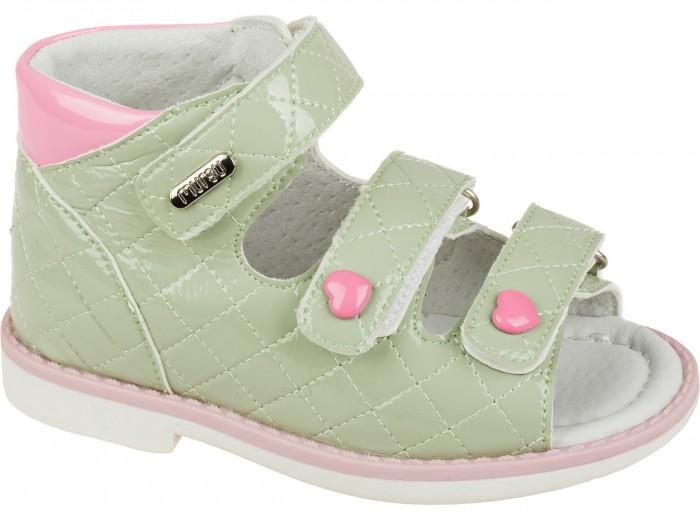 Босоножки и сандалии Mursu Туфли открытые для девочки 215525 туфли mursu туфли для девочки 215826