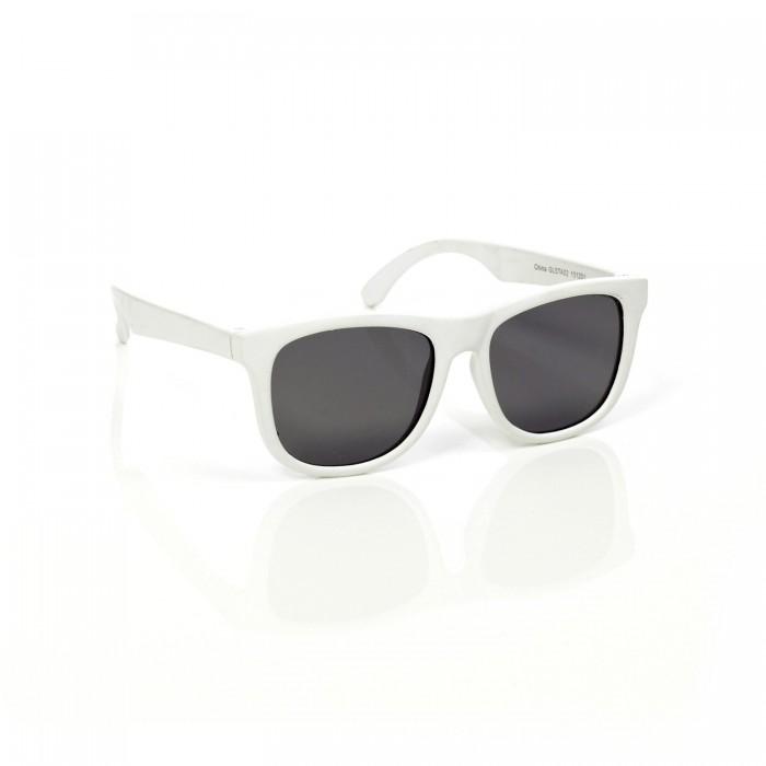 Солнцезащитные очки Mustachifier детские 0-2 годадетские 0-2 годаСолнцезащитные очки американского бренда Mustachifier.   Обеспечивают 100% защиты от UVA и UVB лучей. Имеют небьющиеся поляризованные линзы и гибкие гнущиеся дужки из каучука, которые практически невозможно сломать.   Подходят даже для новорожденных - в комплекте есть крепящаяся к дужкам резинка для фиксации очков на голове малыша (если она не нужна, ее можно легко снять).<br>