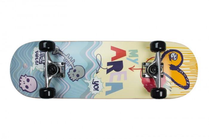Скейтборды My Area Скейтборд Sweet Raspberry lumion 3667 3c