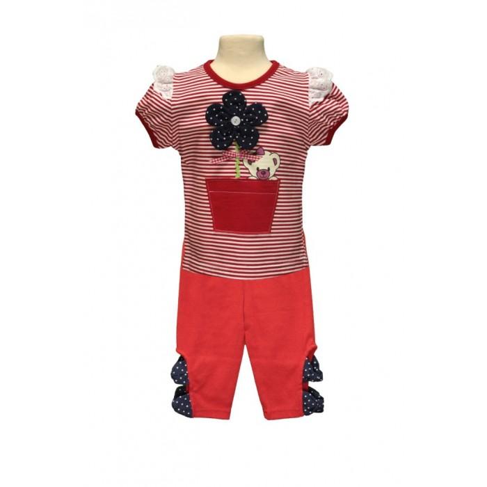 My Kids Комплект для девочки (футболка и леггинсы) 23-1543