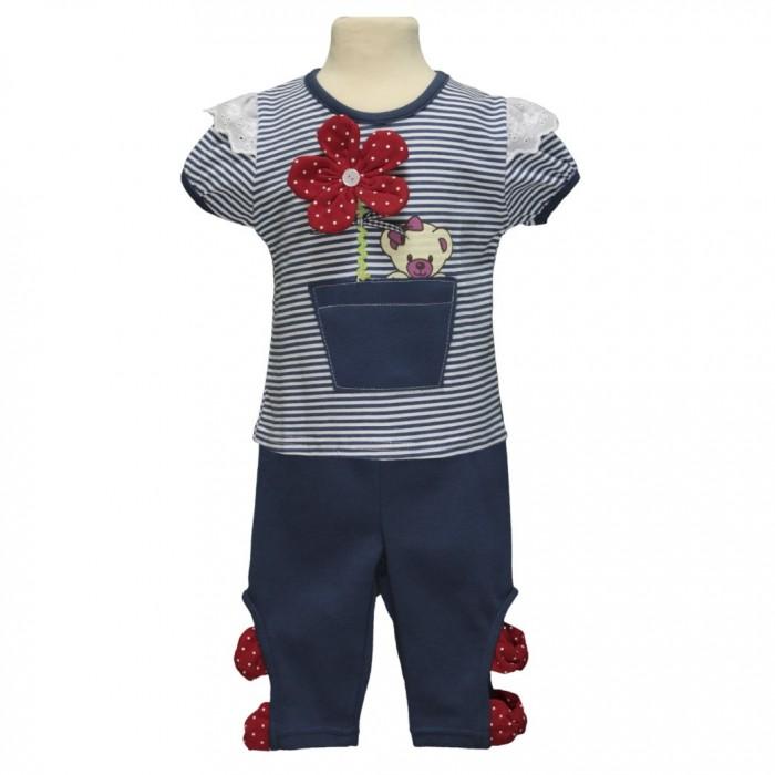 Купить Комплекты детской одежды, My Kids Комплект для девочки (футболка и леггинсы) 23-1543