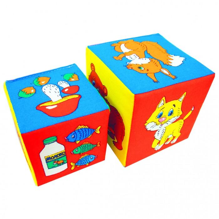 Развивающие игрушки Мякиши Кубики 2 шт. кубик мякиши зоомякиши обезьянка 258 1 шт