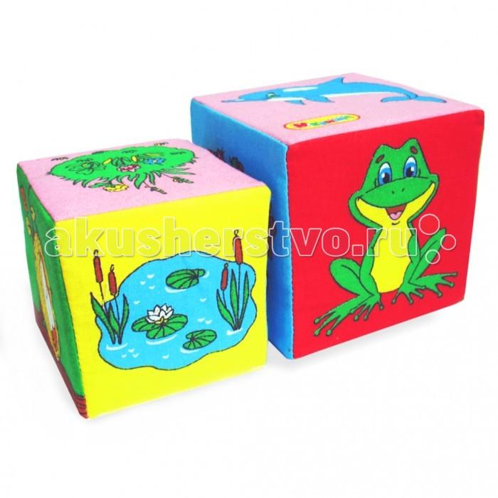 Развивающие игрушки Мякиши Кубики 2 шт. развивающие игрушки мякиши кубики 2 шт