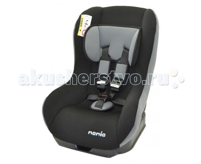 Автокресло Nania BasicBasicВ данный момент кресла приходит без вкладыша. Если Вам нужен вкладыш - смотрите автокресло Nania Challenger (отличаются только наличием вкладыша и накладок на ремни).  Кресло крепится с помощью 3-х точечного штатного ремня безопасности и соответствует Европейским нормам безопасности. Оно имеет оптимальную ширину и глубину, а легкоснимающиеся для стирки чехлы выполнены из 100% хлопка.<br>