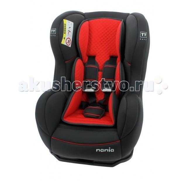 Автокресло Nania Cosmo SP LTD (Limited)Cosmo SP LTD (Limited)Автокресло Nania Cosmo SP LTD имеют опцию установки в противоположном движению автомобиля направлении, причем ребенок находится в горизонтальном положении. Это особенно важно для малышей до 1-го года, не умеющих самостоятельно сидеть. Когда вес ребенка достигнет 9-ти кг, кресло следует устанавливать лицом в направлении движения автомобиля, однако только на заднем сиденье. Конструкция авто-кресел этой группы представляет собой пластиковую основу на силовом каркасе. Благодаря тому, что наклон спинки можно регулировать, малыш сможет спокойно спать во время долгих путешествий.  Дополнительная усиленная боковая защита, 5 положений спинки, 5-ти точечный ремень безопасности с удобной системой натяжения. Новая система крепления автокресла облегчает его установку в автомобиль.  Особенности: 5-точечные ремни безопасности с 3-мя уровнями регулировки по высоте и мягкими плечевыми накладками крепится в автомобиле с помощью 3-х точечного ремня безопасности против движения автомобиля прочный каркас анатомической формы из полипропилена поглощающая силу удара прослойка из полистирола 3 положения наклона спинки позволяют ребенку комфортно чувствовать себя во время длительных поездок обивка легко снимается, возможна стирка при 300С SP (side protection) - улучшенная боковая защита соответствует стандарту безопасности ЕСЕ R44/04  Внешние размеры: 54х45х61 см; сидение: 31х31 см; спинка: 55 см<br>