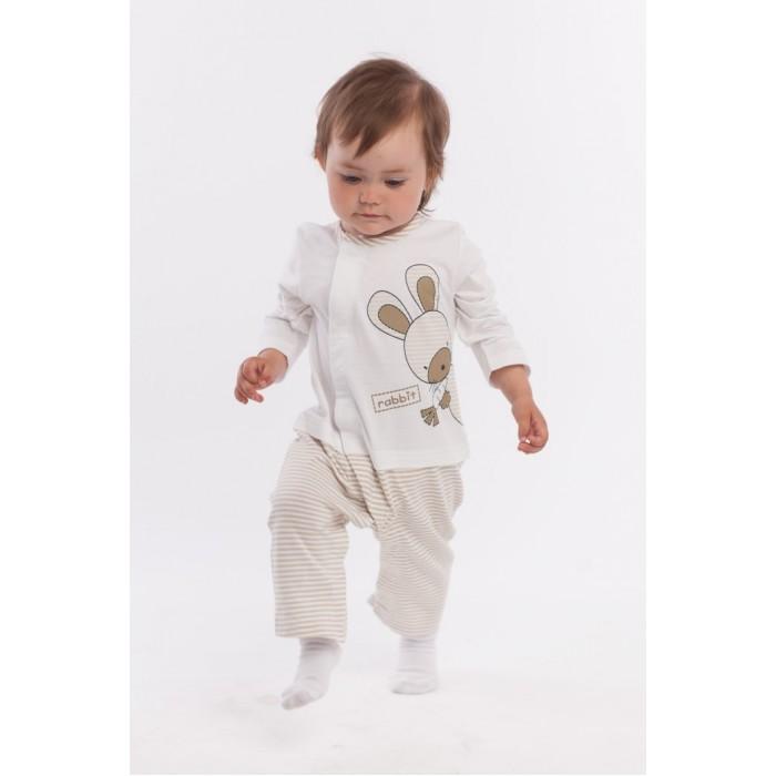 Комбинезоны и полукомбинезоны Nannette Комбинезон-пижама для малышей 26-1784 комбинезоны нательные для малышей inbebe комбинезон