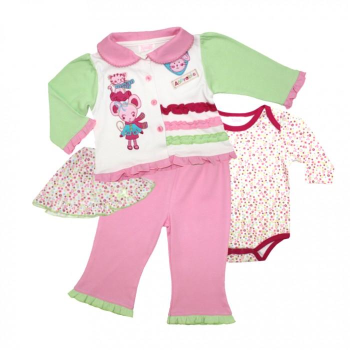 Nannette Комплект для девочки 4 предмета 111-0049