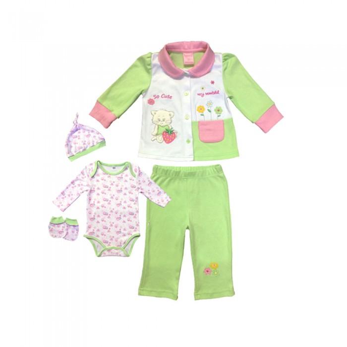 Детская одежда , Комплекты детской одежды Nannette Комплект для девочки 5 предметов 14-2888 арт: 527676 -  Комплекты детской одежды