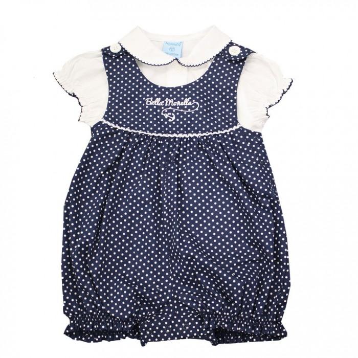 Nannette Комплект для девочки (песочник и блузка) 14-2976
