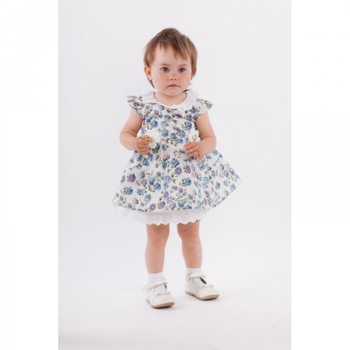 Nannette Комплект для девочки (платье и трусики) 3-1594