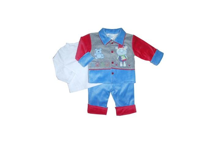 Купить Комплекты детской одежды, Nannette Комплект для мальчика 3 предмета 14-2906
