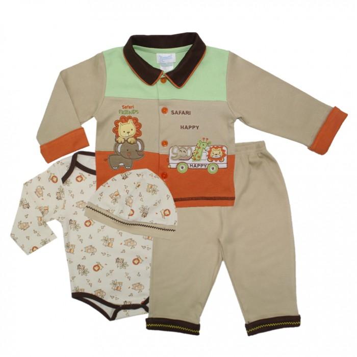 Nannette Комплект для мальчика 4 предмета 111-0046