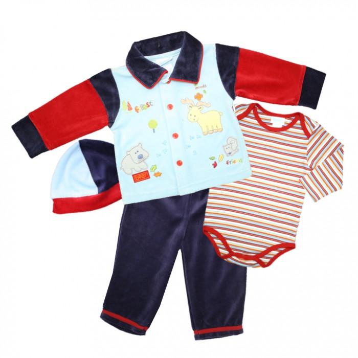Купить Комплекты детской одежды, Nannette Комплект для мальчика 4 предмета 111-0047