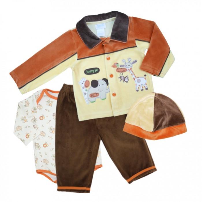 Купить Комплекты детской одежды, Nannette Комплект для мальчика 4 предмета 111-0052