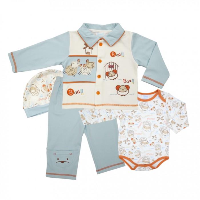 Купить Комплекты детской одежды, Nannette Комплект для мальчика 4 предмета 111-0053