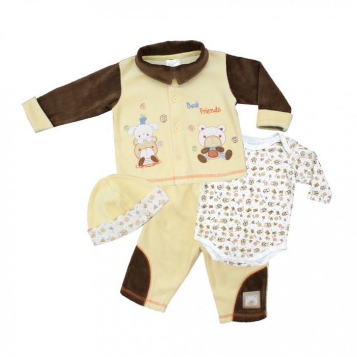 Купить Комплекты детской одежды, Nannette Комплект для мальчика 4 предмета 111-0060