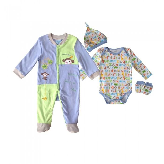 Купить Комплекты детской одежды, Nannette Комплект для мальчика 4 предмета 14-2881