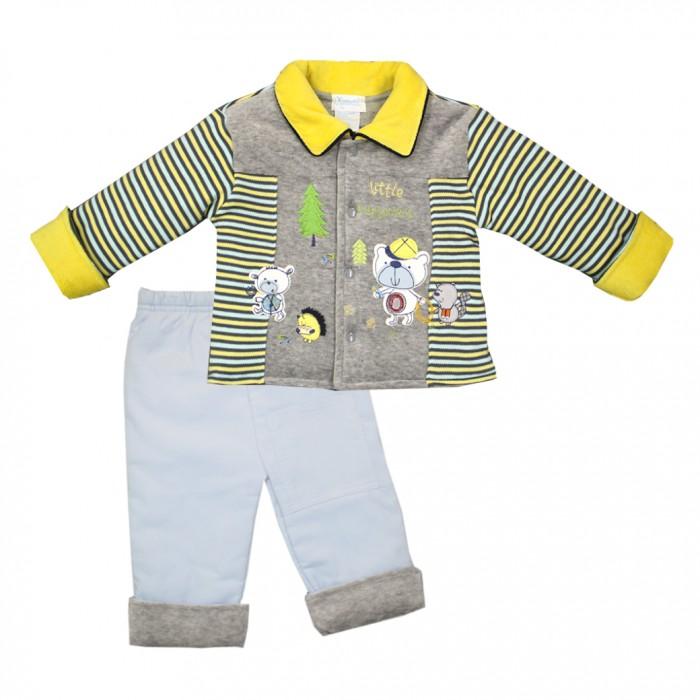 Nannette Комплект для мальчика (кофточка и штаны) 14-2816