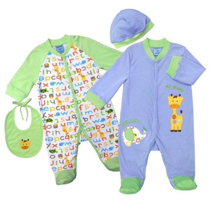 Комплекты детской одежды Nannette Комплект (5 предметов) 14-2875 комплекты детской одежды мамуляндия комплект одежды игрушки 15 5003п 5 предметов