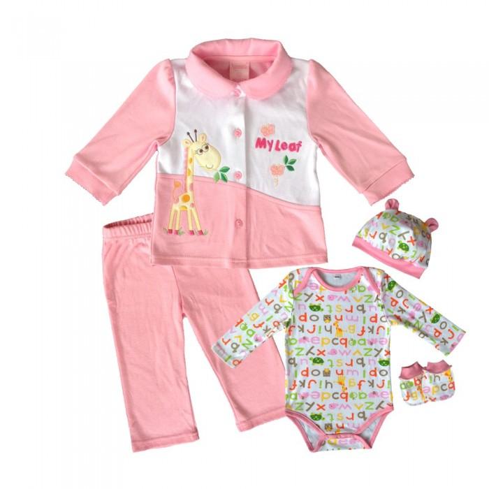 Комплекты детской одежды Nannette Комплект трикотажный (5 предметов) 14-2886 комплекты детской одежды клякса комплект 5 предметов 53 5228