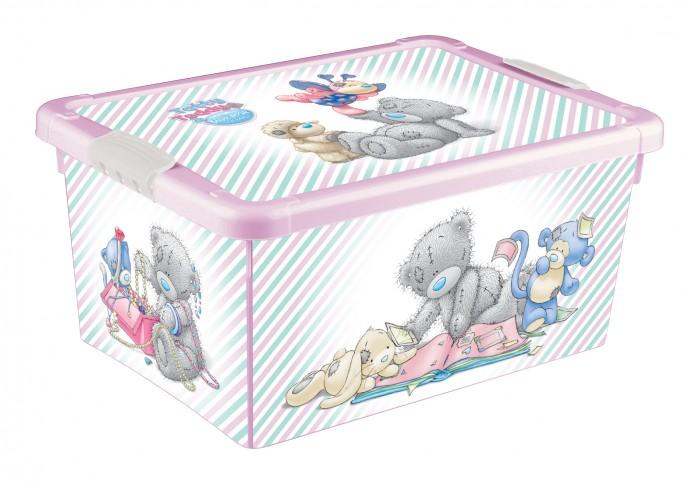 ящики для игрушек me to you комод детский на колесах с аппликацией 4 ящика 39х37х78 см Ящики для игрушек Me to You Ящик универсальный с аппликацией 335X240X155 мм