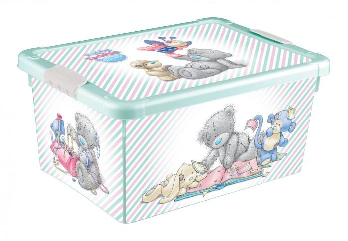Ящики для игрушек Me to You Ящик универсальный с аппликацией 335X240X155 мм ящики для игрушек tomjerry ящик универсальный с аппликацией 33 5x24x15 5 см