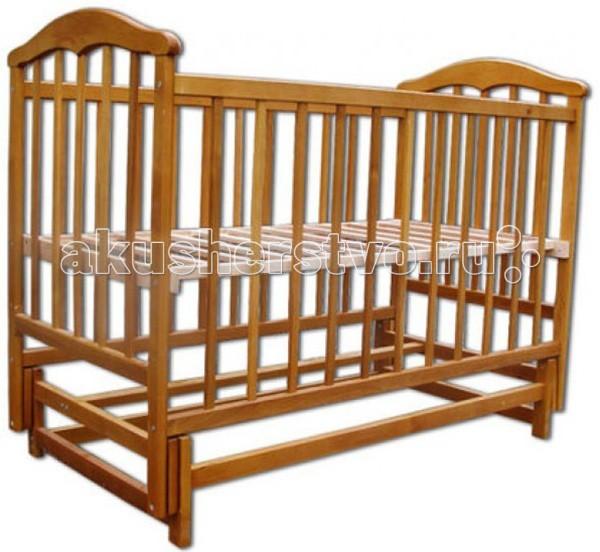 Детская кроватка Наполеон Чайка маятник поперечный