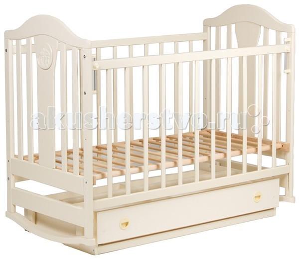 Детская кроватка Наполеон New (маятник поперечный) с ящиком