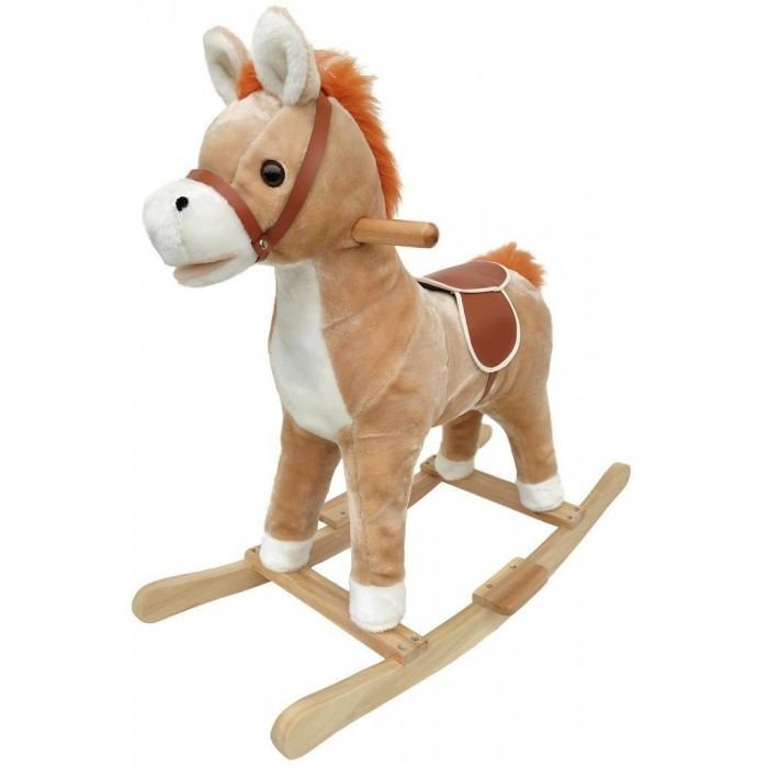 Фото - Качалки-игрушки Наша Игрушка Лошадка 74 см кукла наша игрушка на прогулке 15 см лошадка