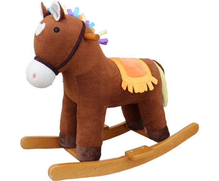 Купить Качалки-игрушки, Качалка Наша Игрушка Лошадка Мультик 65 см 611034