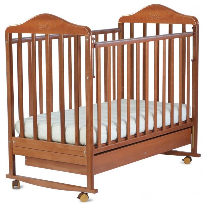 Детские кроватки Наша Мама Джулия колесо-качалка с ящиком