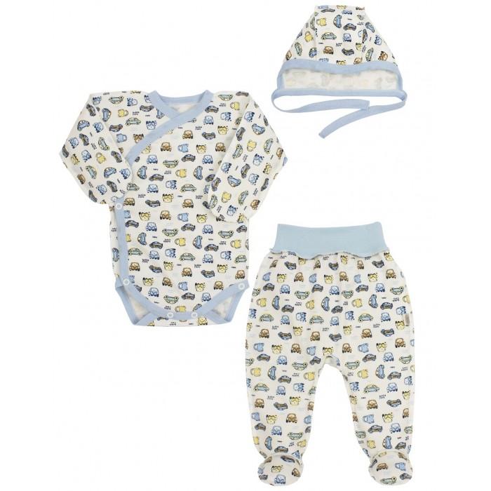комплекты детской одежды bembi комплект детский 3 предмета кп184 Комплекты детской одежды Наша Мама Комплект для малыша 6021 (3 предмета)