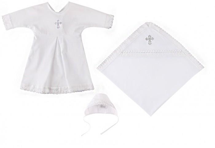 Купить Крестильная одежда, Наша Мама Крестильный набор (пеленка, рубашка, чепчик) для мальчика