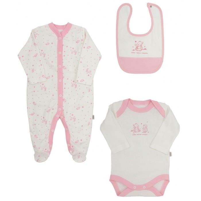 Купить Комплекты детской одежды, Наша Мама Набор для девочки 444299-2 3 предмета