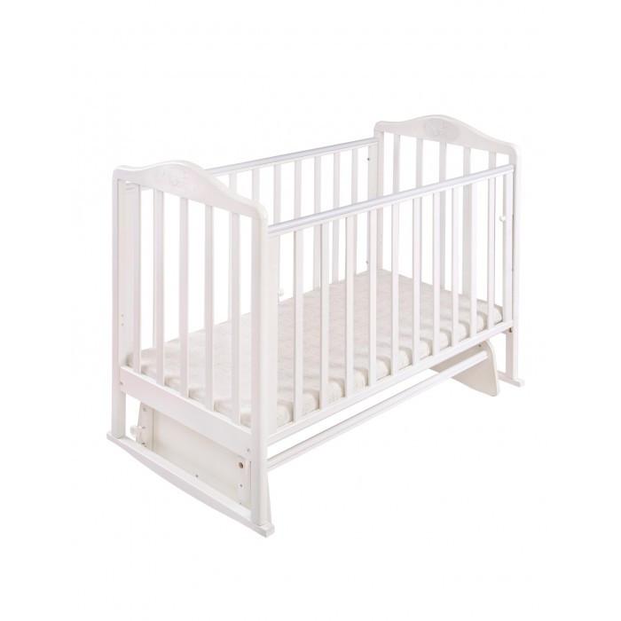 Детская кроватка Наша Мама Джулия маятник поперечный