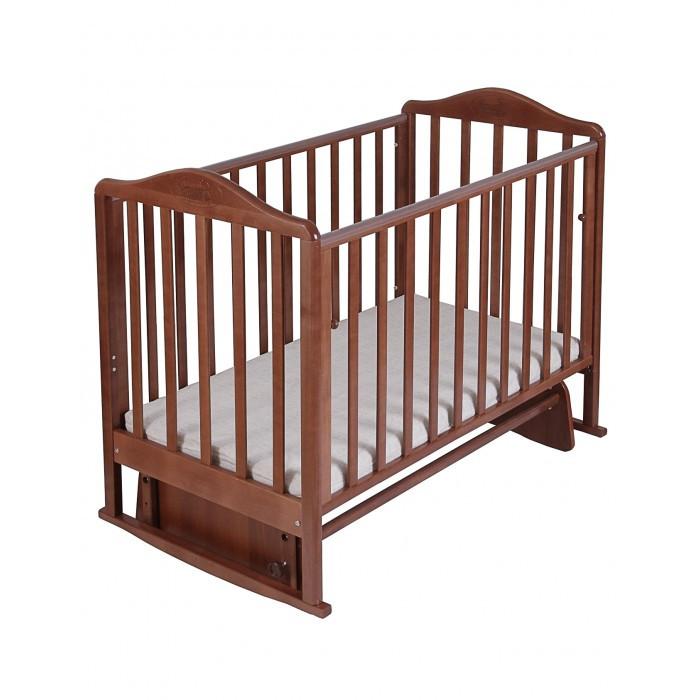 Детские кроватки, Детская кроватка Наша Мама Джулия маятник поперечный  - купить со скидкой