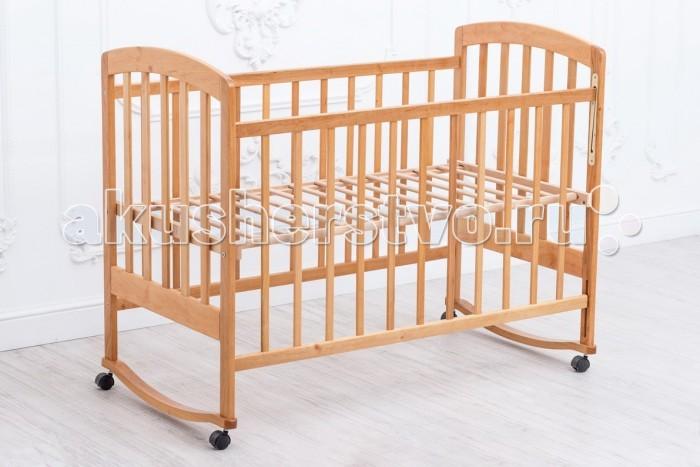 Детские кроватки Nastella Bom Bom eco-friendly (колесо-качалка) 120х60 см детские кроватки valle giraffe 02 колесо качалка