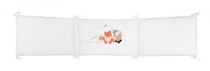 Картинка для Бортики в кроватку Nattou Fanny & Oscar Оленёнок и Лисёнок универсальный