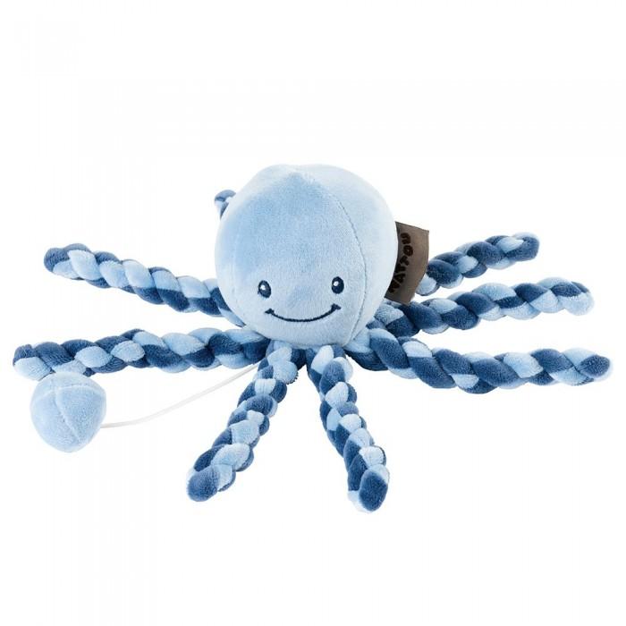 Мягкая игрушка Nattou Lapidou Octopus музыкальная