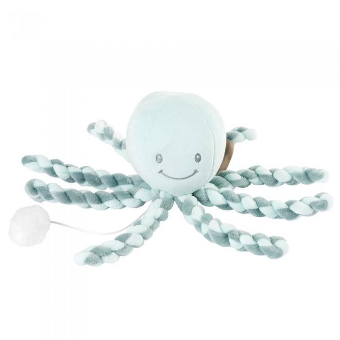 Мягкие игрушки Nattou Lapidou Octopus музыкальная