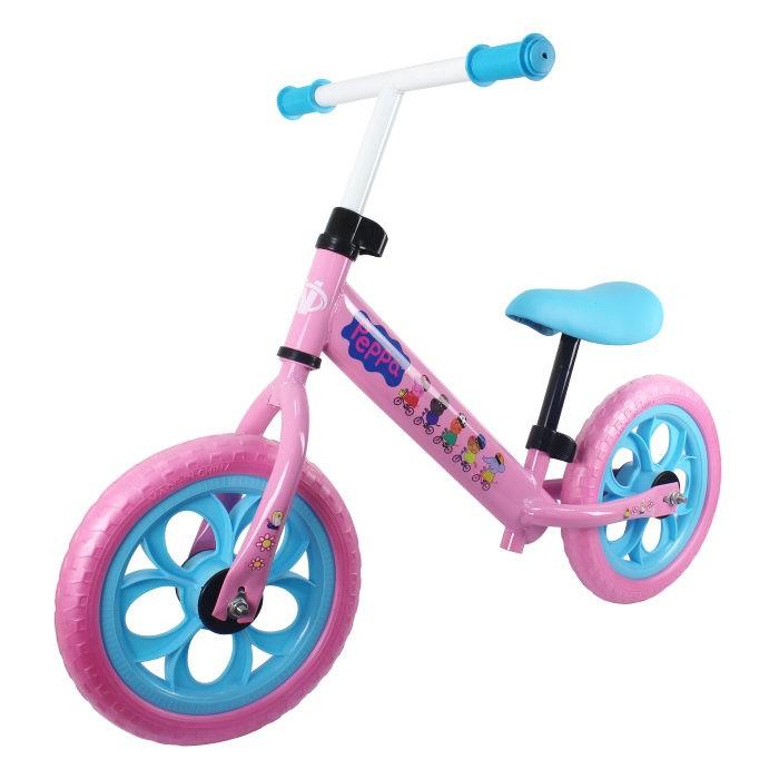 Беговел Navigator Peppa PigБеговелы<br>Беговел Navigator Peppa Pig - станет отличным подарком для активных детей и порадует их своим красочным внешним видом.  Беговел Navigator станет самым первым двухколесным транспортным средством для Вашего ребенка.   Беговел для обучения баланса и навыков езды на велосипеде по различным типам местности.  Колеса 12,  стальная рама,  пластиковые обода,  EVA покрышки