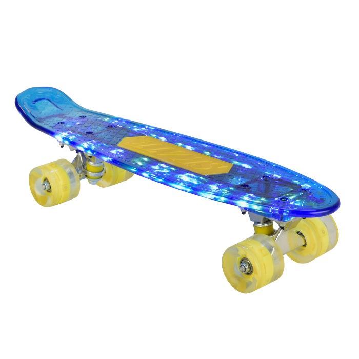 детский скейтборд navigator т20013 синий желтый Скейтборды Navigator Скейтборд Т2001