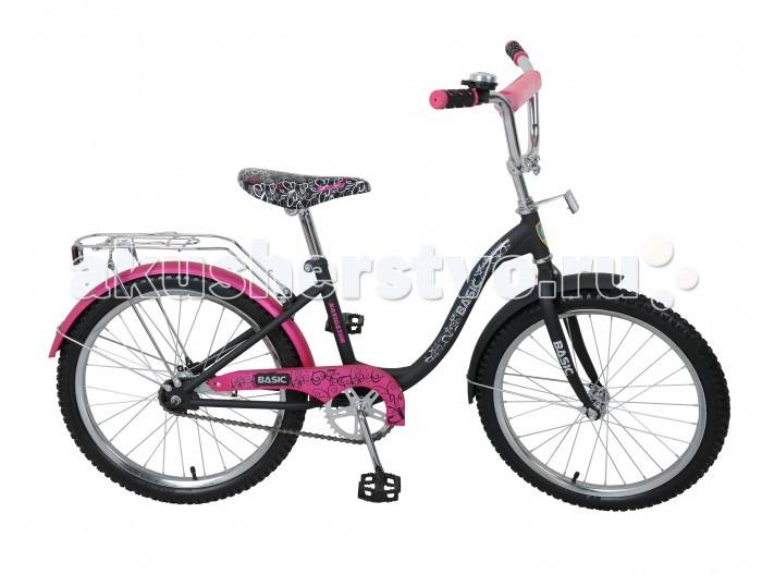 Велосипед двухколесный Navigator Basic 20 B09Basic 20 B09Велосипед Navigator Basic 20 B09 - это хорошо собранный и надёжный велосипед для ребёнка.   Велосипед оснащен звонком и багажником. Модель подойдет для ребенка возрастом от 7 лет и ростом 125-145 см. Катание на велосипеде благоприятно влияет на здоровье, укрепляет мышцы, развивает зрение, учит ориентироваться в пространстве и принимать решения.   Особенности: Тип: детский Материал рамы: сталь Амортизация: отсутствует Конструкция вилки: жесткая Конструкция рулевой колонки: неинтегрированная, резьбовая Диаметр колес: 20 дюймов Материал обода: алюминиевый сплав Двойной обод: нет Шатун: односоставной Возможность крепления боковых колес: да Тип переднего тормоза: отсутствует Тип заднего тормоза: ножной Уровень заднего тормоза: начальный Количество скоростей: 1 Уровень каретки: начальный Конструкция каретки: неинтегрированная Тип посадочной части вала каретки: квадрат Количество звезд в кассете: 1 Количество звезд системы: 1 Конструкция педалей: платформы Конструкция руля: изогнутый Настройка положения руля: регулируемый подъем Материал рамки седла: сталь Комфорт: защита цепи, мягкая накладка на руле<br>