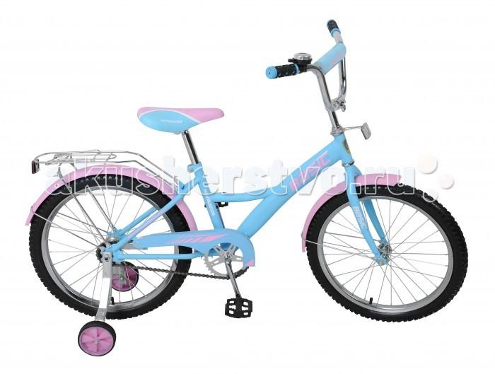 Двухколесные велосипеды Navigator Basic 20 Kite съемные колеса стул со спинкой складной nika пс3 сиденье 300х300мм цвет камуфляж