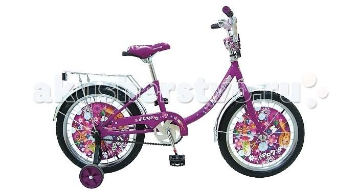 Велосипед двухколесный Navigator Lady 16Lady 16Велосипед Navigator Lady 16 - это хорошо собранный и надёжный велосипед для ребёнка.   Особенности: Тип: детский Материал рамы: сталь Амортизация: отсутствует Конструкция вилки: жесткая Конструкция рулевой колонки: неинтегрированная, резьбовая Диаметр колес: 16 дюймов Материал обода: алюминиевый сплав Двойной обод: нет Материал бортировочного шнура: металл Возможность крепления боковых колес: есть Боковые колеса в комплекте: есть Тип переднего тормоза: отсутствует Тип заднего тормоза: ножной Уровень заднего тормоза: начальный Количество скоростей: 1 Уровень каретки: начальный Конструкция каретки: неинтегрированная Тип посадочной части вала каретки: квадрат Количество звезд в кассете: 1 Количество звезд системы: 1 Конструкция педалей: платформы Конструкция руля: изогнутый Настройка положения руля: регулируемый подъем Комплектация: багажник, крылья Материал рамки седла: сталь Комфорт: защита цепи<br>
