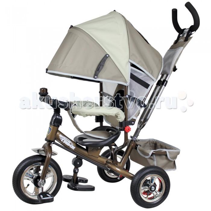 Велосипед трехколесный Navigator Lexus Т57566/Т57567Lexus Т57566/Т57567Велосипед трехколесный Navigator Lexus предназначен для того, чтобы ребенок увидел мир с другого ракурса и постепенно переходил с коляски на собственный транспорт. Популярная модель детского трехколесного велосипеда с ярким дизайном. Велосипед снабжен ручкой управления для родителей.  Особенности: Диаметр переднего/заднего колеса: 10/8 Широкие надувные колеса с пластиковыми дисками  Сиденье с регулируемой спинкой Конструкция руля прямой Тяга Безопасность и комфорт Ручка для родителей  Управление рулем Подставки для ног  Переднее крыло  Страховочный обод  Козырек от дождя Тканевая вставка на сиденье  Рюкзак на ручке  Задняя корзина (фиксированная) Клаксон  Вес: 10.7 кг<br>