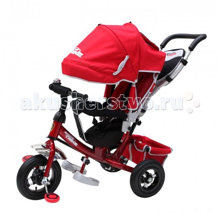 Велосипед трехколесный Navigator Lexus Т58452/Т58453Lexus Т58452/Т58453Велосипед трехколесный Navigator Lexus предназначен для того, чтобы ребенок увидел мир с другого ракурса и постепенно переходил с коляски на собственный транспорт. Популярная модель детского трехколесного велосипеда с ярким дизайном. Велосипед снабжен ручкой управления для родителей.  Особенности: Диаметр переднего/заднего колеса: 10/8 Широкие надувные колеса с алюминиевыми дисками  Сиденье с регулируемой спинкой и ремнями Конструкция руля прямой Тяга Безопасность и комфорт Ручка для родителей  Управление рулем Подставки для ног  Переднее крыло  Страховочный разъемный обод  Колясочный козырек от дождя Тканевая вставка на сиденье  Рюкзак на ручке  Задняя корзина (фиксированная) Клаксон  Вес: 10.3 кг<br>